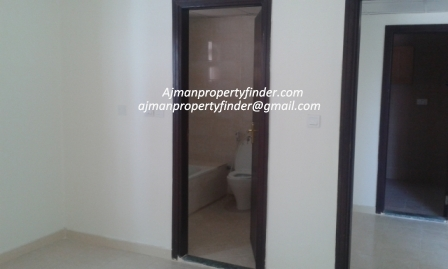 Apartment for rent in Al Nuaimiyah Area, Near GMC Hospital Ajman | 1 bedroom Flat for rent AED 31,000/year.