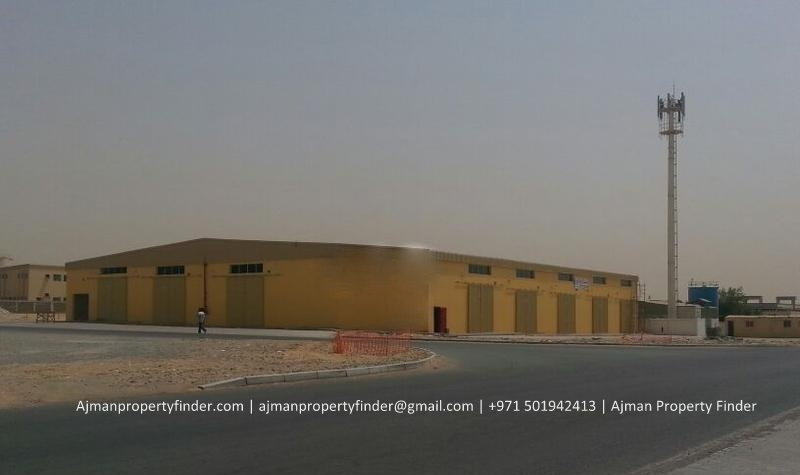 Warehouse for Rent in Ajman | 1800 sqft Warehouse with Road Side Facing for Rent in Al Jurf Area