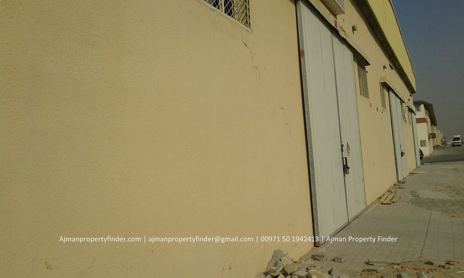 Warehouse for Rent in Ajman | 6700-sqft with Electricity warehouse in Ajman Industrial Area