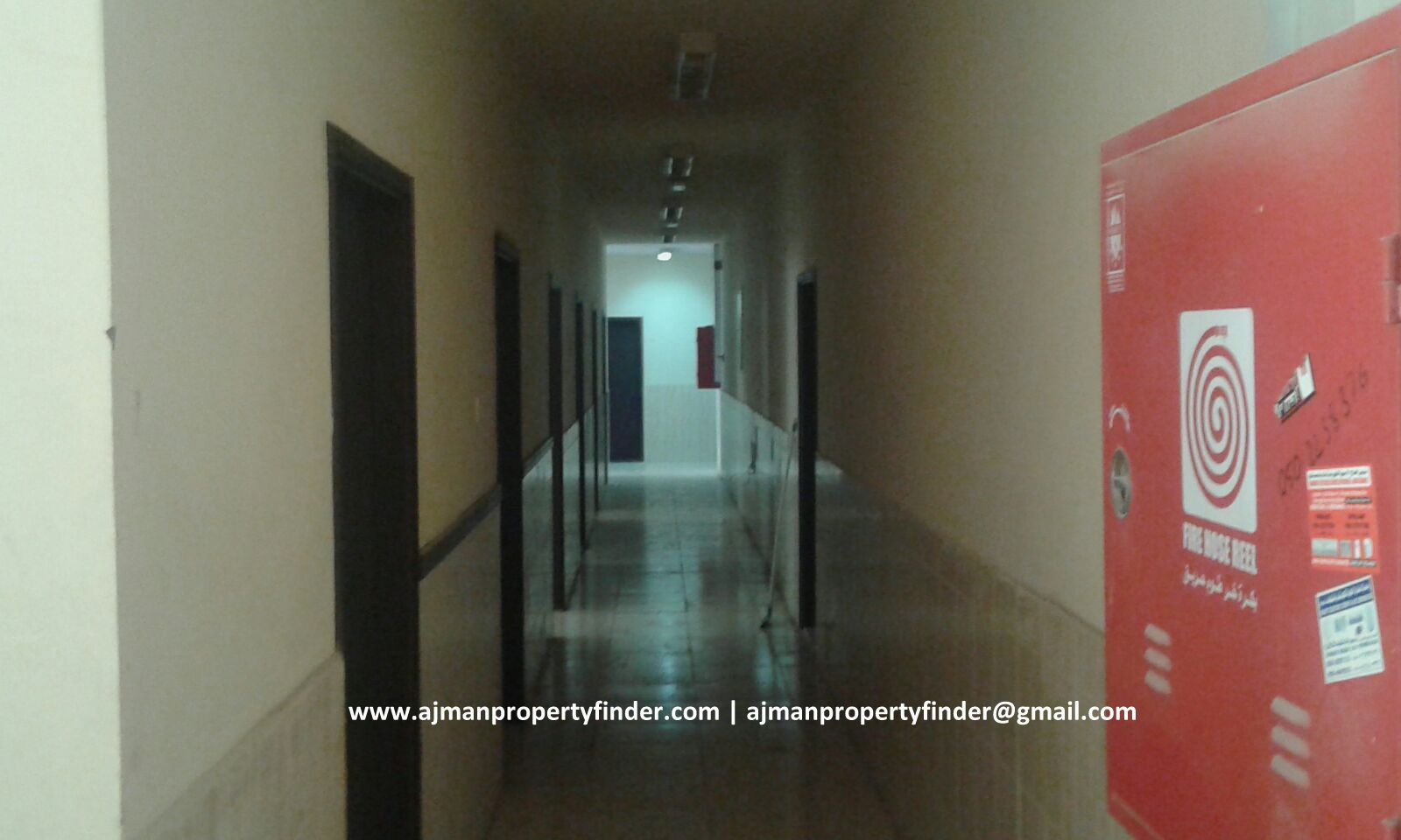 Labour Camp for Rent in Ajman | 42 Rooms, Government Electricity | Rent AED 1,200/month