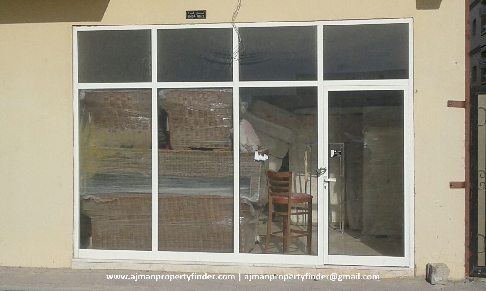 Ajman | Shop for Rent in Ajman | Storage Space without electricty