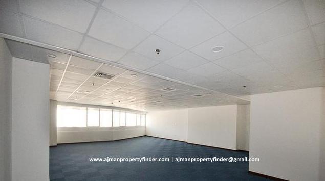 Ajman | Office Space with Parking for Rent in Falcon Towers Ajman