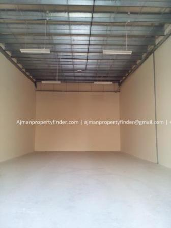Small warehouse for rent in Ajman