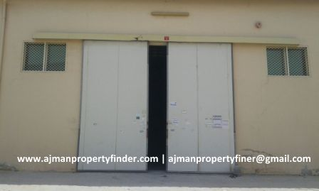 Road Size Big Warehouse for Rent in Ajman