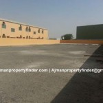 Open Yard for rent in Ajman | Open space for storage purpose in Al Jurf