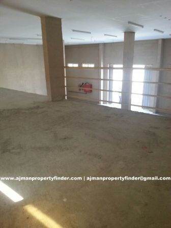 Warehouse with mezzanine for rent in ajman