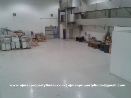 warehouse with electricity in ajman sanaiya industrial area