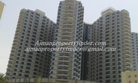 Falcon Tower Ajman | 1 Bedroom flat for Rent in 33,000/year