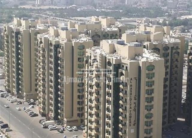 Building view rahisidyah towers ajman
