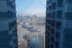 Outside view from office in falcon towers ajman