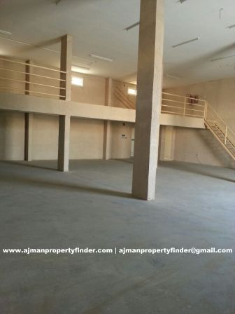 Warehouse with Mezzanine Floor for rent near China Mall Ajman