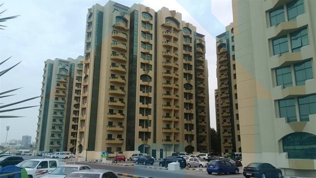 Flat for Rent in Rashidiyah Towers Ajman | 2 Bedroom Hall in Residential Building