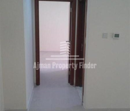 1 BHK flat in Ajman Pearl Towers - View from hall 1