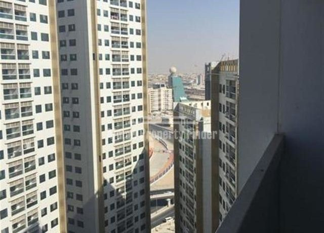 2 BHK flat in Ajman Pearl Towers - view from balcony