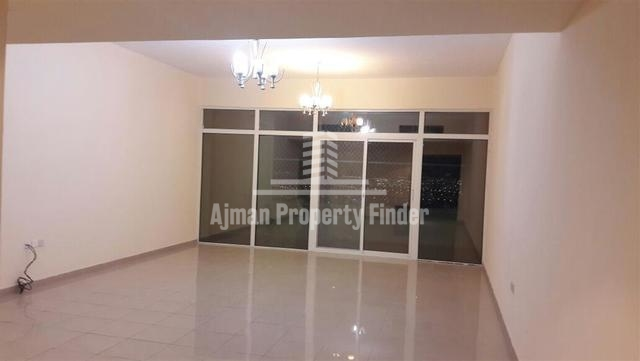 Balcony in Hall - Flat in Horizon Tower Ajman
