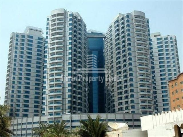 Freehold Property for Sale in Falcon Towers Ajman | 2 Bedroom Hall