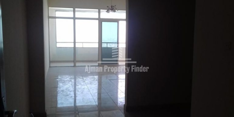 Flat enterence view - 1bhk flat - Horizon Towers Ajman
