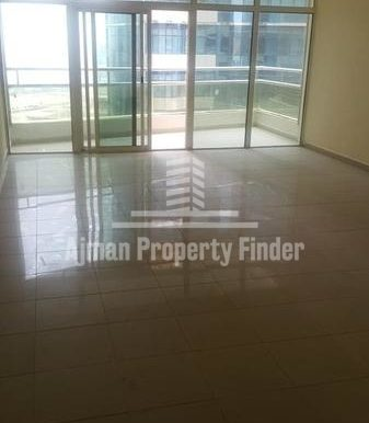 Hall view - 1bhk flat - Horizon Towers Ajman