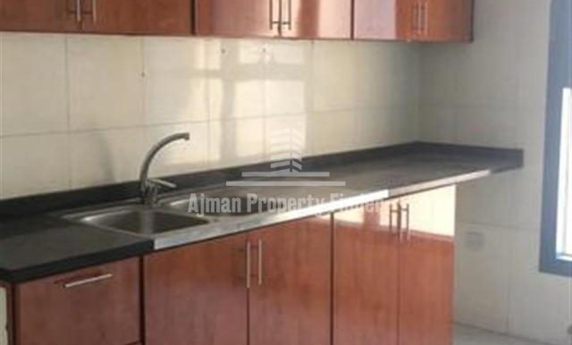 Kitchen view - 3 bhk in Nuamiyah Towers Ajman