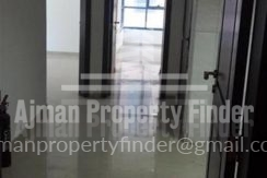 1 bhk Flat in Naumiyah Towers Ajman - view from enterence