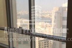 2 BHK flat in Ajman Pearl Towers - Outside view from room
