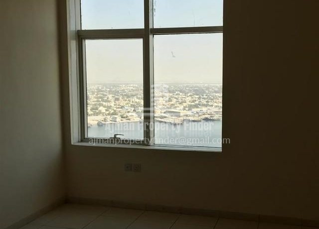 2 BHK flat in Horizon Towers Ajman - Room View