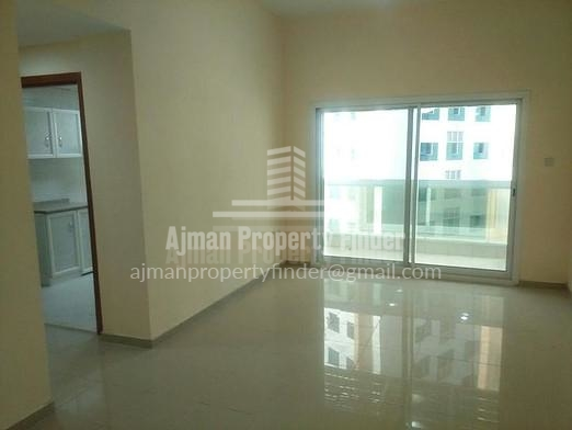 2 BHK in Ajman Pearl Towers - View to Balcony